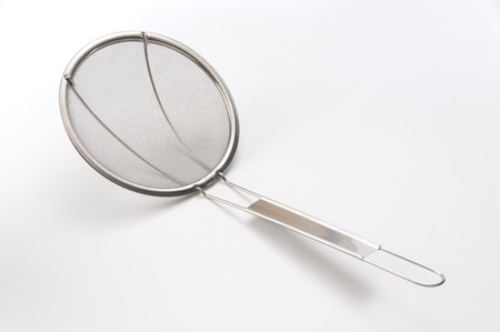 skimmer: mesh skimmer Stock Photo