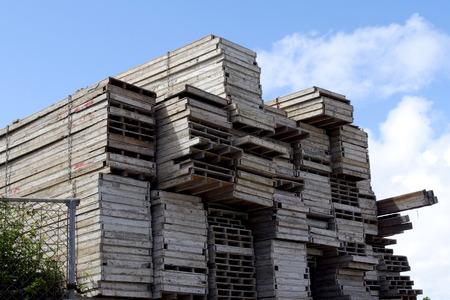 provisional: Architectural formwork Stock Photo