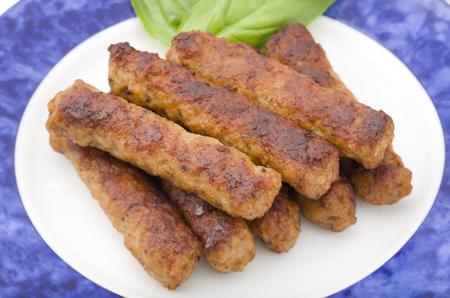 pork sausage: Skinless pork sausage