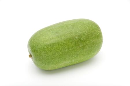 Mini wax gourd on white background