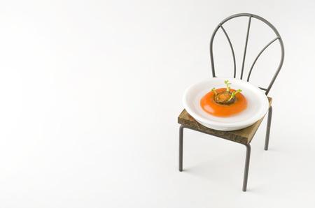 regenerated: Egeneated vegetables reborn vegetable carrot Stock Photo