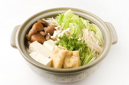 Japanese Vegetable hot pot-nabe