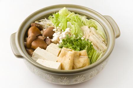 Japanese Vegetable hot pot-nabe