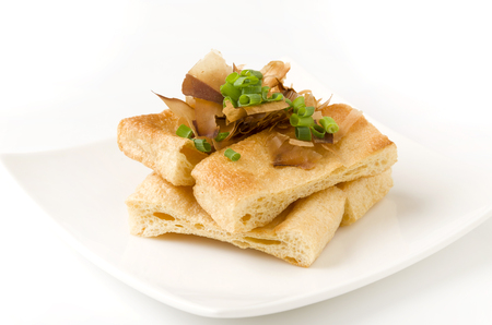 beancurd: Grilled deep fried tofu