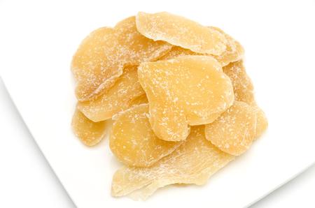 설탕에 절인 생강
