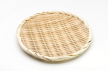 bamboo sieve Standard-Bild