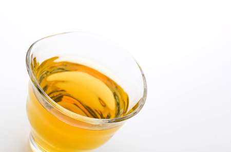 necessities: Green tea Stock Photo