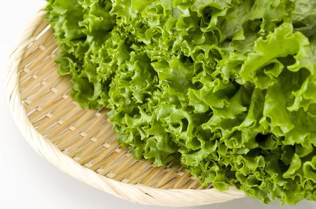 carl: green leaves lettuce