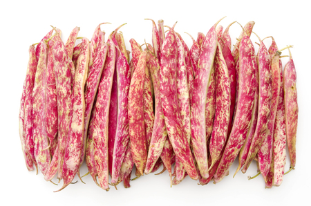 borlotti beans Stock Photo