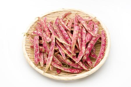 borlotti beans: borlotti beans Stock Photo