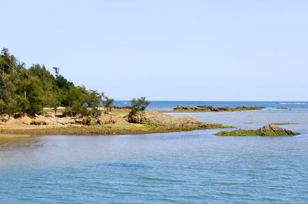 downstream: Okukubi River Estuary