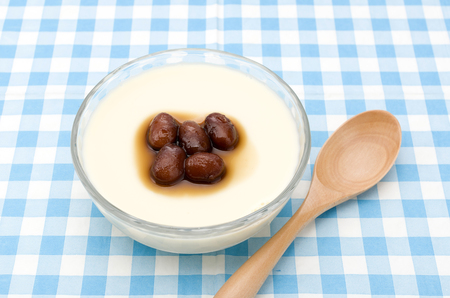 Soy milk pudding