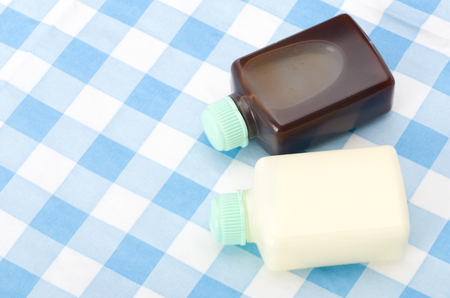 Small plastic bottle Sauce and Mayonnaise