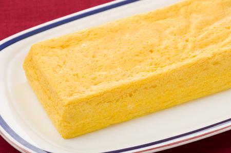 Japanese omelette Stock Photo