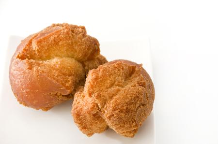 sata: Okinawa Sata Andagi doughnut balls Stock Photo