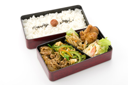 Japanese box lunch, Goya Yakiniku Bento