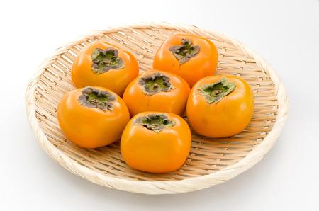 Persimmon, Kaki Stock Photo
