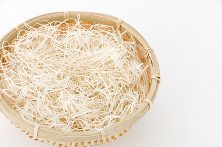 Paper cushion in Sieve, shredded paper, Paper cushion.