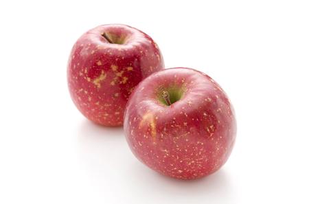 fresh apple on a white background