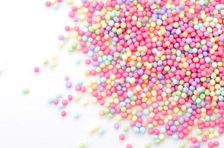 Colorful sprinkles sugar