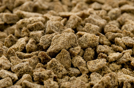brown sugar lump texture