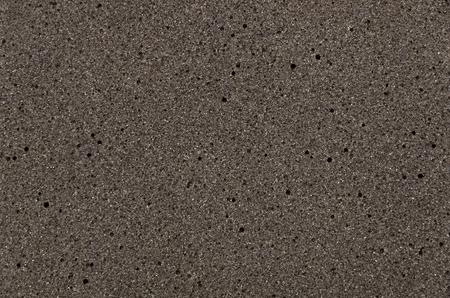 Black sponge textur