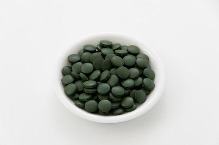Green pills, Spirulina tablets