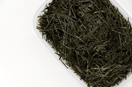 Japanese food, Kizami nori, shredded nori, nori, dry seaweed, 스톡 콘텐츠
