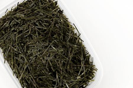 Kizami nori, shredded nori, nori, dry seaweed, Japanese food Stock Photo