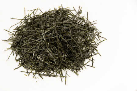 Kizami nori, shredded nori, nori, dry seaweed, Japanese food 스톡 콘텐츠