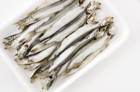 Capelin fish or Karafuto shishamo fish