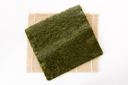dried laver seaweed Stock Photo