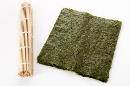 dried laver seaweed 免版税图像
