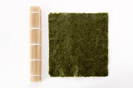 dried laver seaweed Imagens