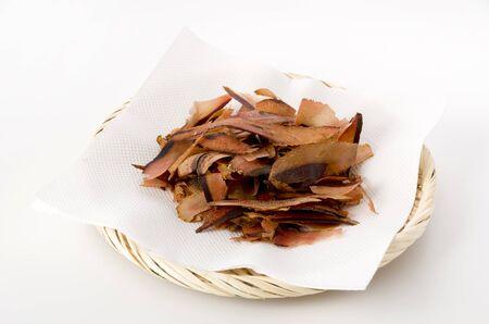 Katsuobushi, dried bonito flakes, Japanese food