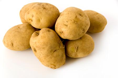 Potato isolated on white background Reklamní fotografie