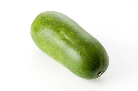 Winter melon on white background 版權商用圖片