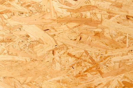 close up OSB plywood texture background 写真素材