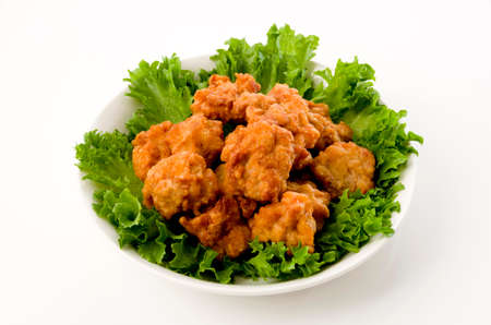 Japanese food, Karaage, Fried chicken japanese style