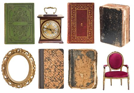 Set of a huge amount gorgeous old vintage items. Reklamní fotografie