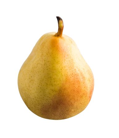 Fruit isolated on a white background. Pear.