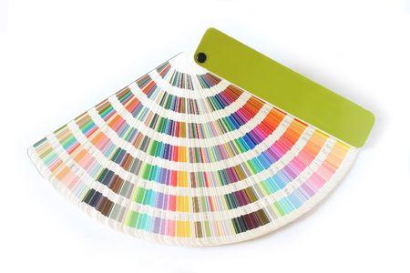 icc: Studio Photo Color guide Stock Photo