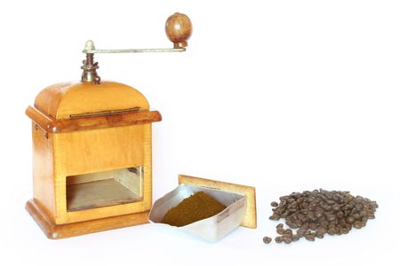 antiquity: Antiquity coffee machine with Beans