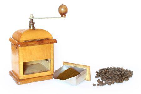 antyk: Starożytności kawy z Fasola Zdjęcie Seryjne