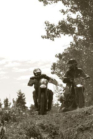 maschine: Motocross Bike - Racing  Stock Photo