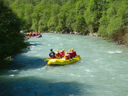 river rafting Stock Photo - 1353511