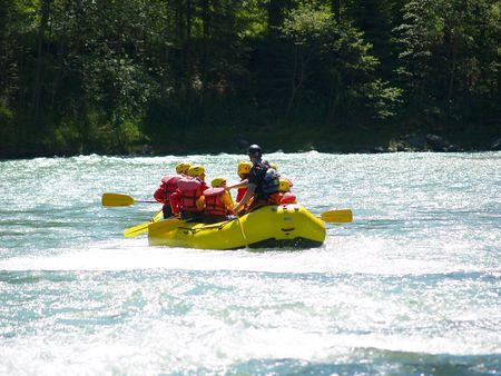 river rafting Stock Photo - 1356529