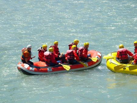 river rafting        Stock Photo - 1424328