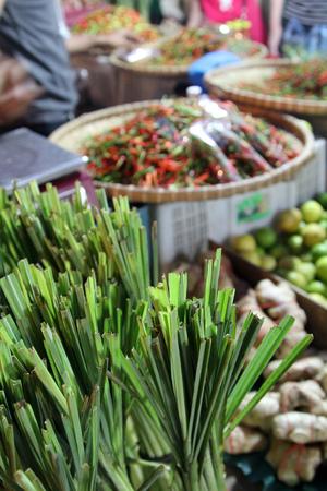 night market: Asian Spices at night market