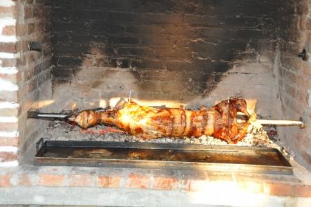 habbit: Lamb roasted